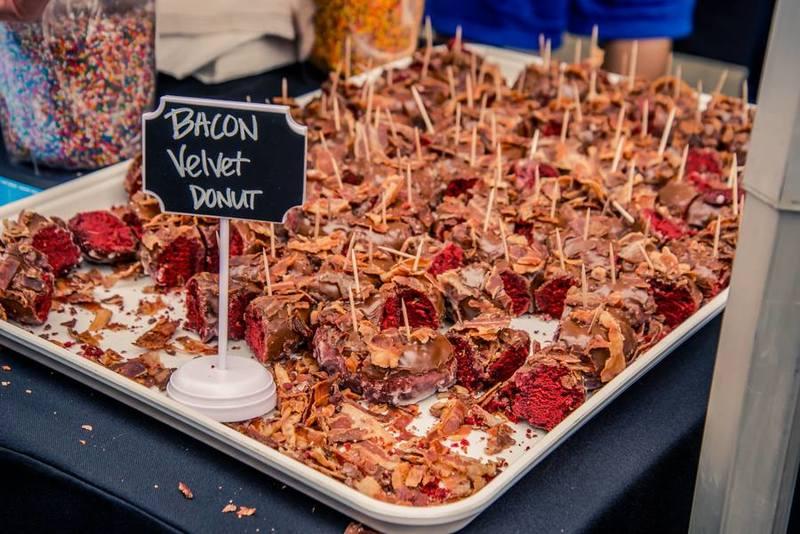 4 Th Annual La Bacon Festival   Back of House